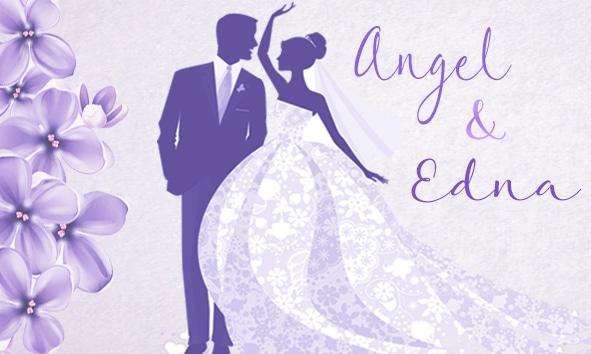 Ángel y Edna