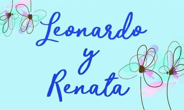 Leonardo y Renata