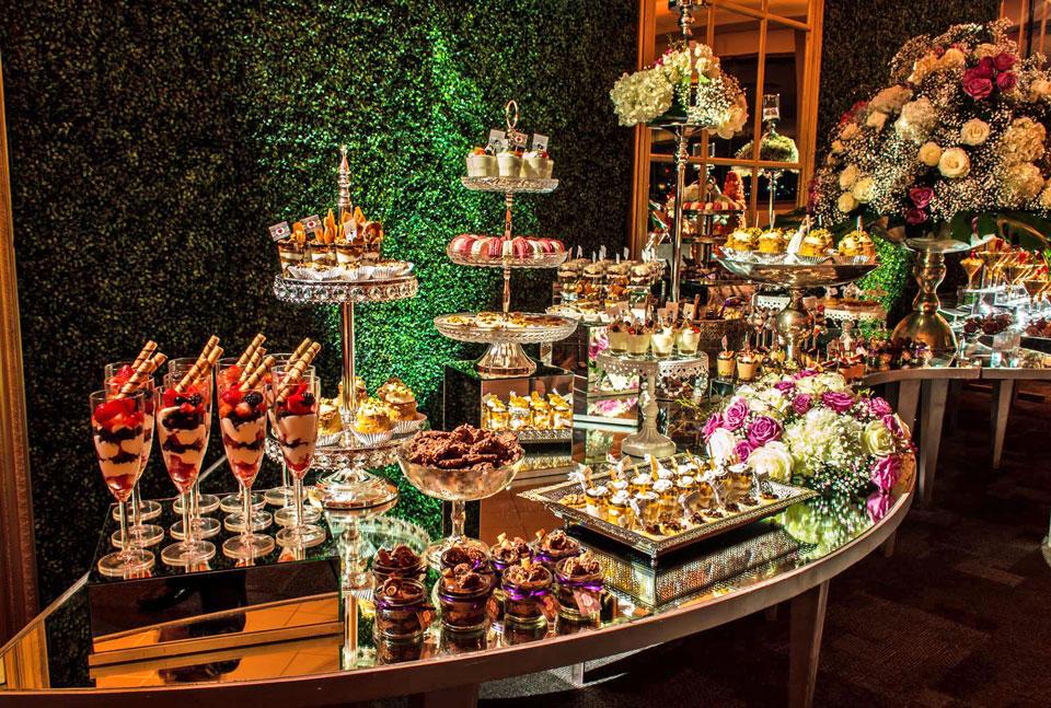 Mesas de dulces para xv a os dulce encato for Mesa de postres para xv